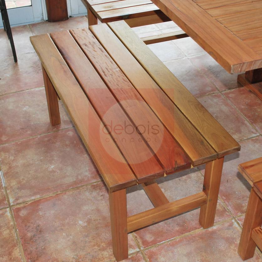 Banco de madera para saunas debois muebles y decoraci n - Bancos de madera para banos ...