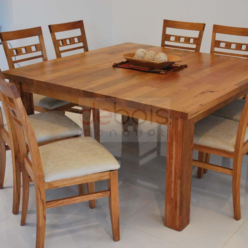 Perfecto Mesa De La Cocina Cuadrada 8 Sillas Ornamento - Ideas para ...